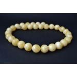77g Vintage amber Bakelite graduated art deco necklace