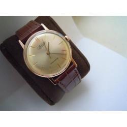 """Vintage 14K gold men's watch """"Vimpel"""" made in USSR"""