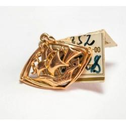 Vintage 14K gold pendant 3.7 gr.