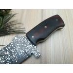 Handmade everyday carry full tand steel knife micarta