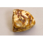 25 g. 100% natural Baltic amber raw (rough) stone landscape amber