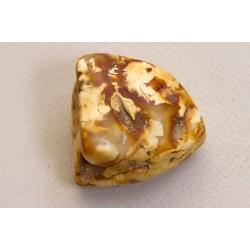 25 g. Baltic amber raw (rough) stone landscape amber