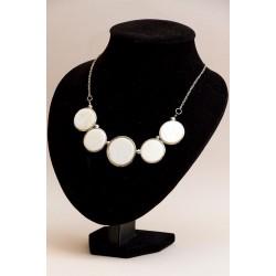 Perls necklace buttons art deco (nacre)