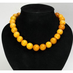 78 gram necklace of natural pressed Baltic amber luxury