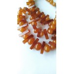 32 g. vintage 100% natural butterscotch Baltic amber necklace antique
