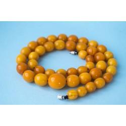 37 g. Vintage 100% natural Baltic amber necklace