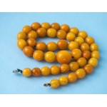 37g. Vintage 100% natural Baltic amber necklace