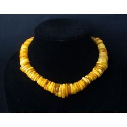 47 g. Vintage 100% natural Baltic amber necklace