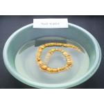 47g. Vintage 100% natural Baltic amber necklace