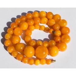 50 g. Vintage 100% natural Baltic amber necklace