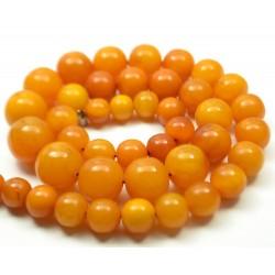 54 g. Vintage 100% natural Baltic amber necklace