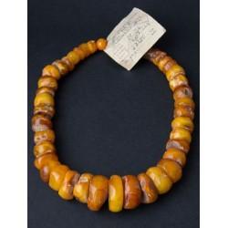 91 g. Vintage 100% natural Baltic amber necklace