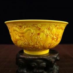 Old Chinese antique Porcelain Big bowl plate dish handwork