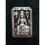 Collection Tibetan silver Guanyin Pendant Buddhist Statue Feng Shui talisman