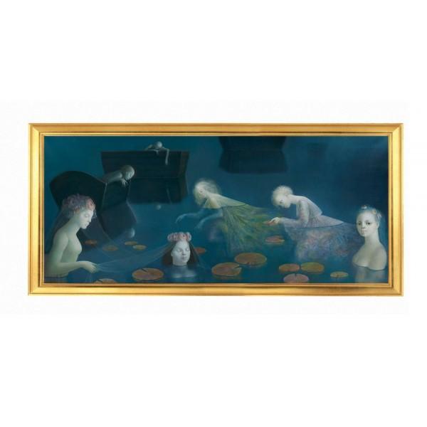 "30"" LEONOR FINI ""La Grange Bateliere"" painting art printed on canvas"