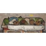 "30"" JANKEL ADLER ""Still Life"" painting art Mixed media printed on canvas"