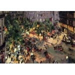 """KONSTANTIN KOROVIN """"Boulevard des Capucines"""" painting canvas not oil printed on canvas"""