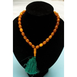 35 g. Vintage 100% natural Baltic amber necklace