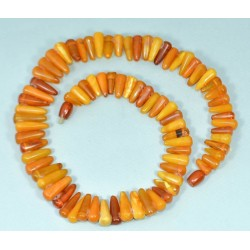 51 g. Vintage 100% natural Baltic amber necklace