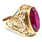 Gold rings (15)