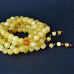 Amber rosary (mala)